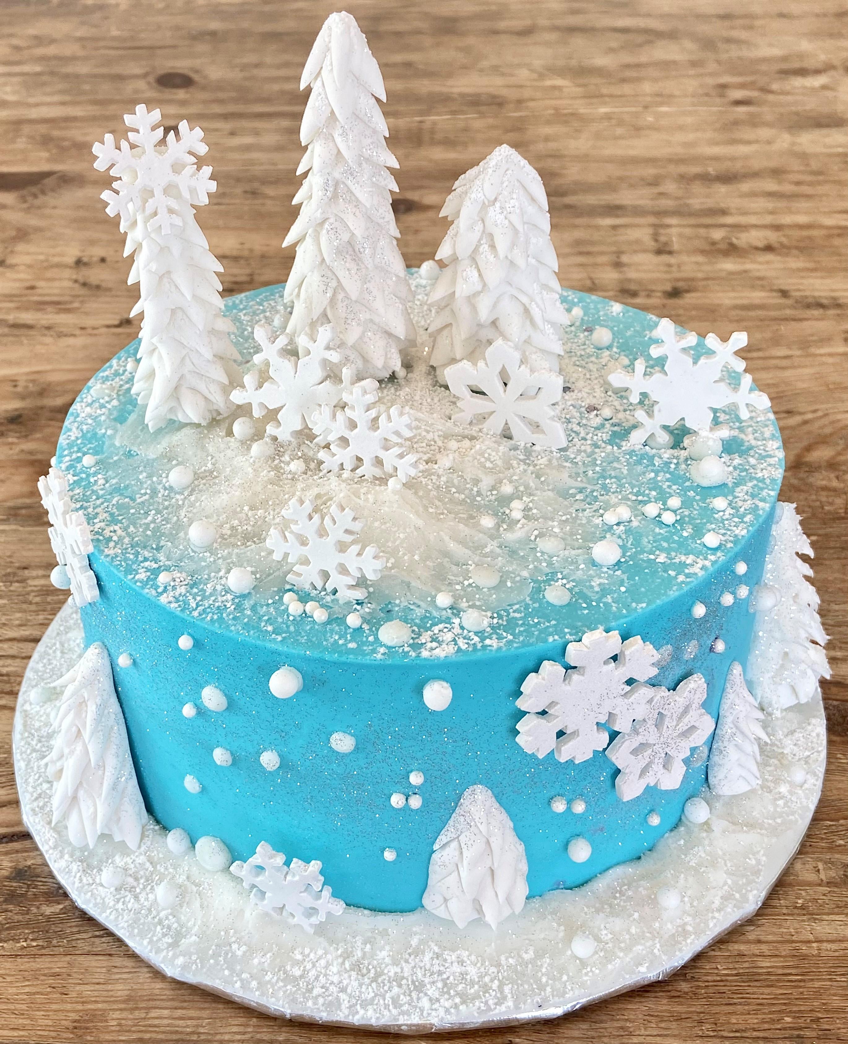 Winter Wonderland Cake WWLCa