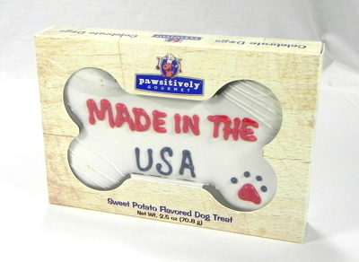 "Made In The USA 6"" Bone Gift Box 00813"