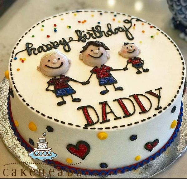 Happy Birthday Family Cake HAPBIRFAMCK