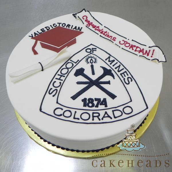 School Of Mines Graduation Cake SCHMINGRCK
