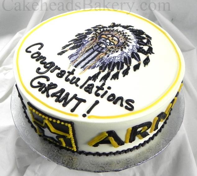 Arapahoe Graduate Cake ARAPGRADCKE