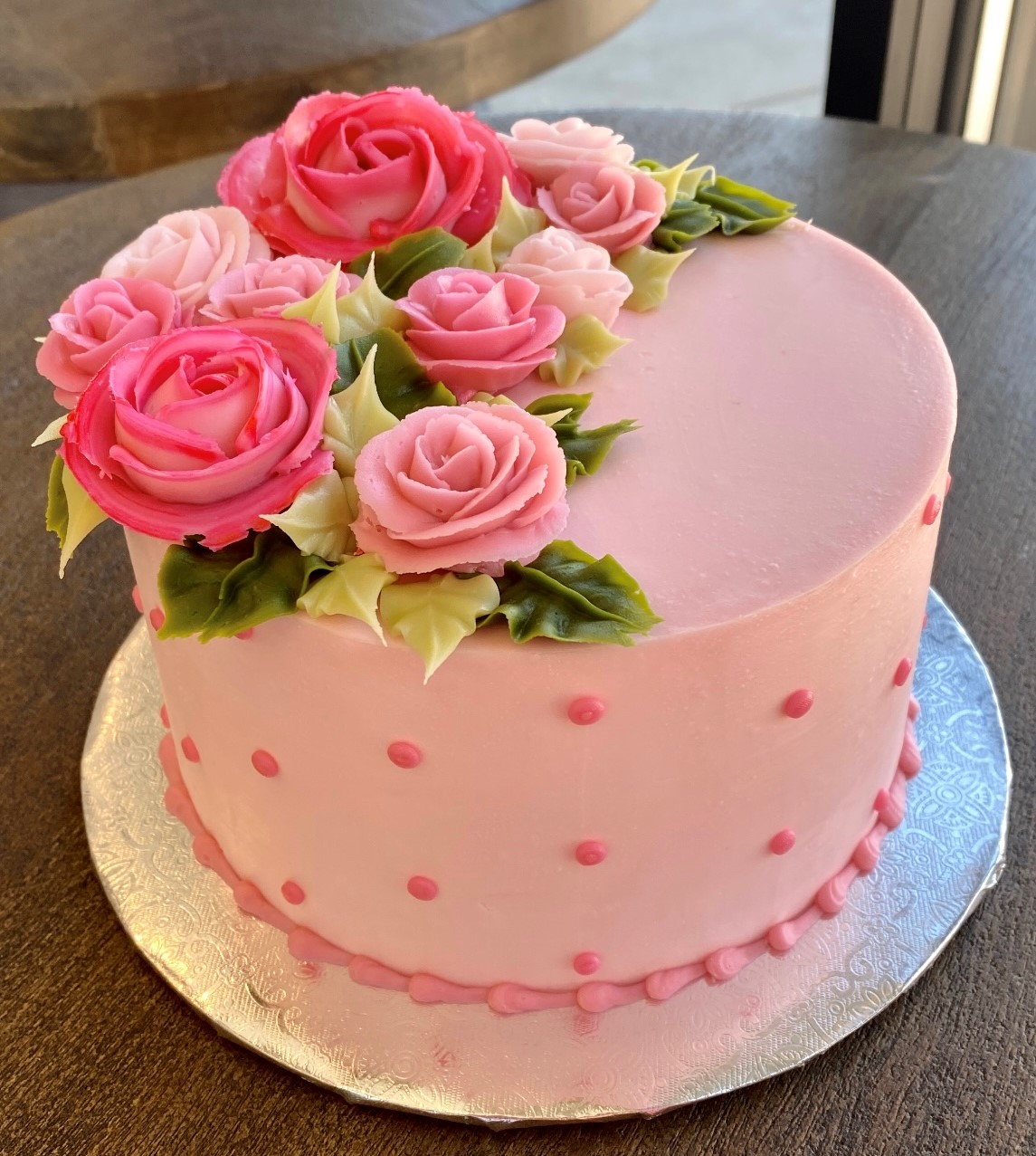 Pretty In Pink Cake pppk1