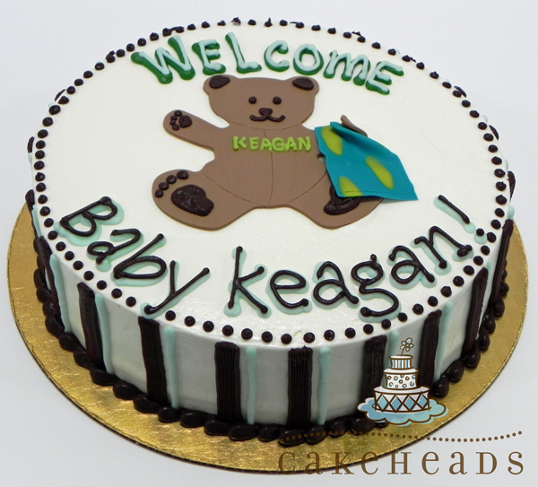 Welcome Baby Bear Cake WELBABBCK