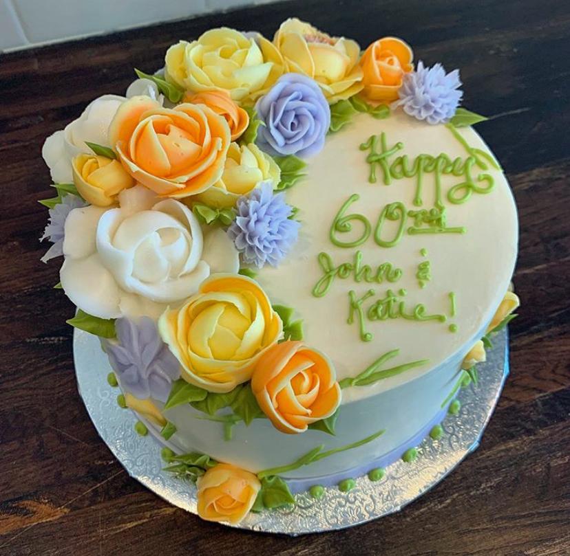 Pastel Floral Cake PASFLOCKE