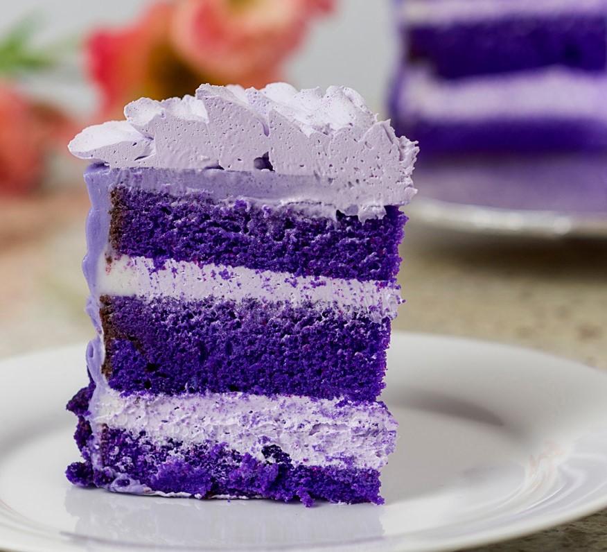 UBE BABY CAKE SLICE ubeube1