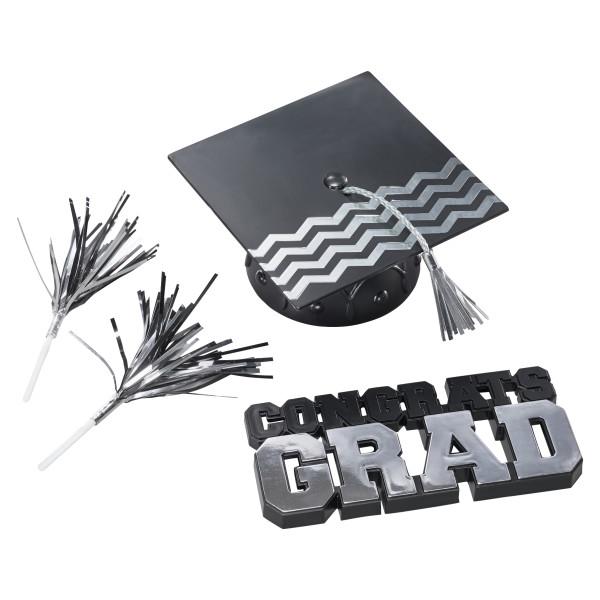Silver Grad Topper Set SILGRADTOP