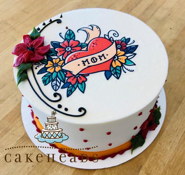 Rockin' Mom Cake rmom1