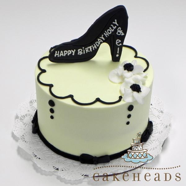 Cake With Shoe CKWISHOE