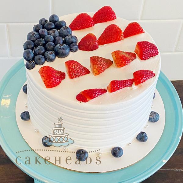 4th Of July Fling Cake 4FLINCK