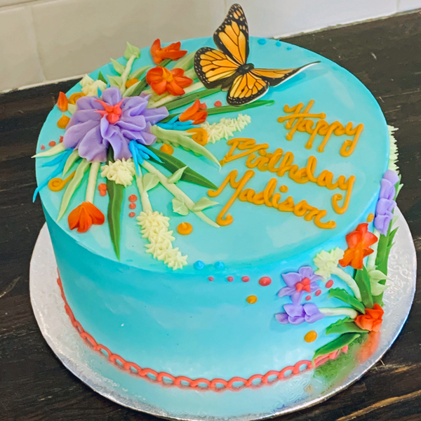 Butterfly Kisses Cake Bfly
