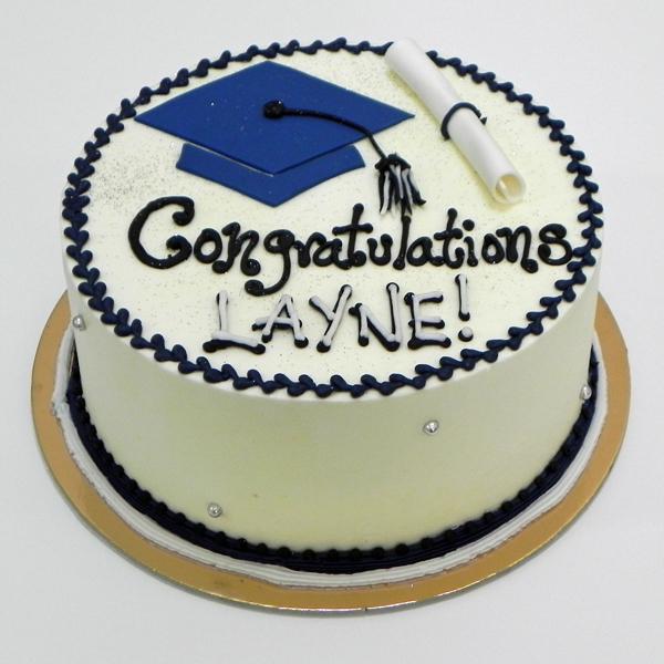 Congratulations Graduate Blue Cap CONGRGRBCK