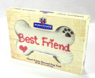 "Best Friend 6"" Bone Gift Box 00874"