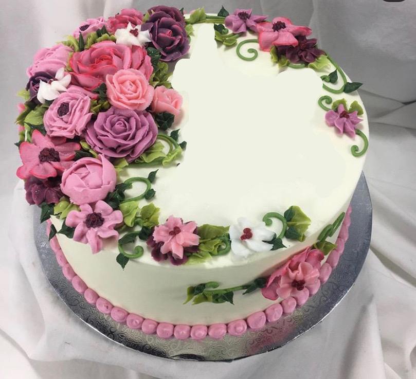 Elegant Floral Cake ELFLO2020