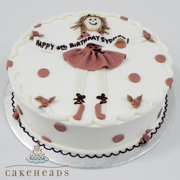 Tiny Dancer Cake TINDANCK