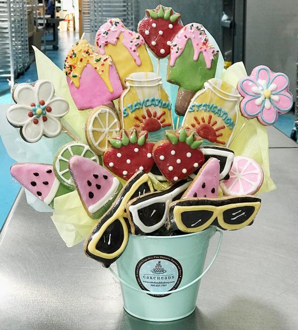 Summer Sugar Cookie Gift Basket SUMSUGCKGB20