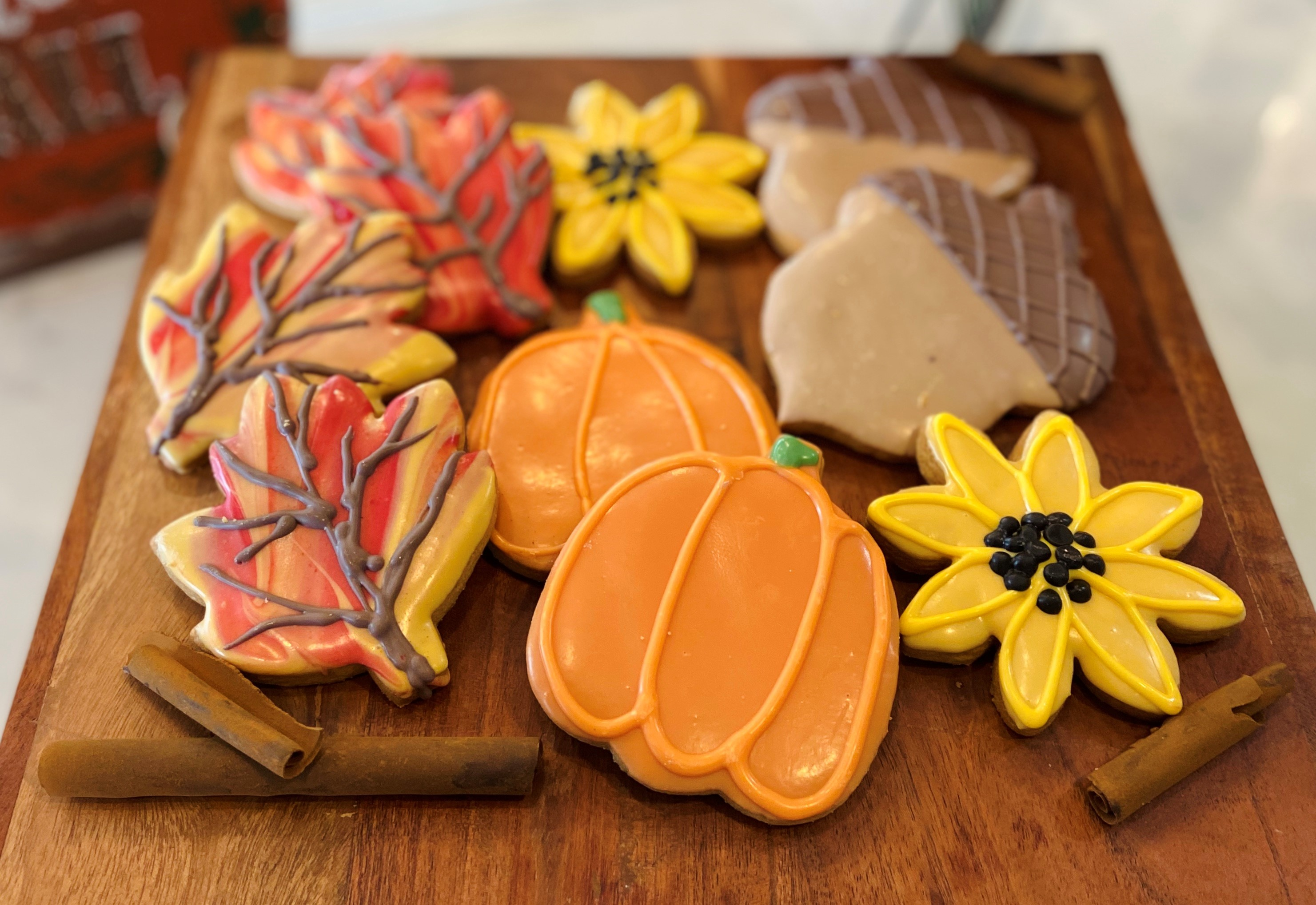 Fall Cookie Assortment (10) fcookies1