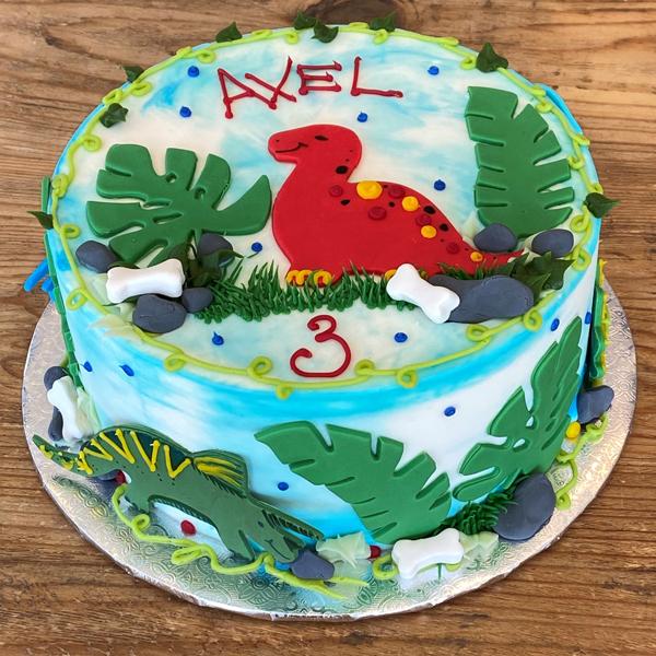 Dino-mite Cake Dino