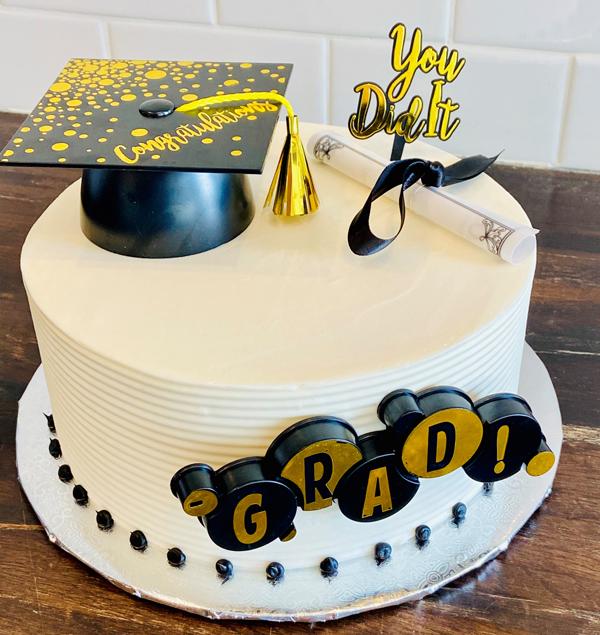 SIMGRADCKE Simple Graduation Cake