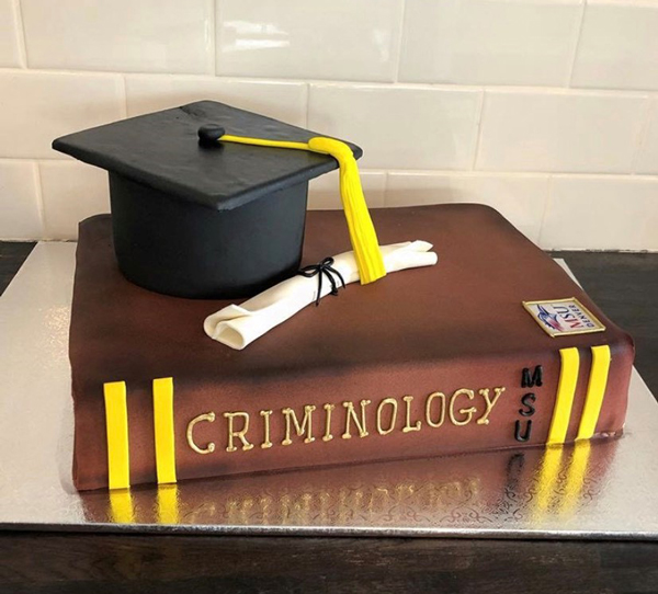 Customize Your Graduate Textbook Cake CUSGRADTXCK