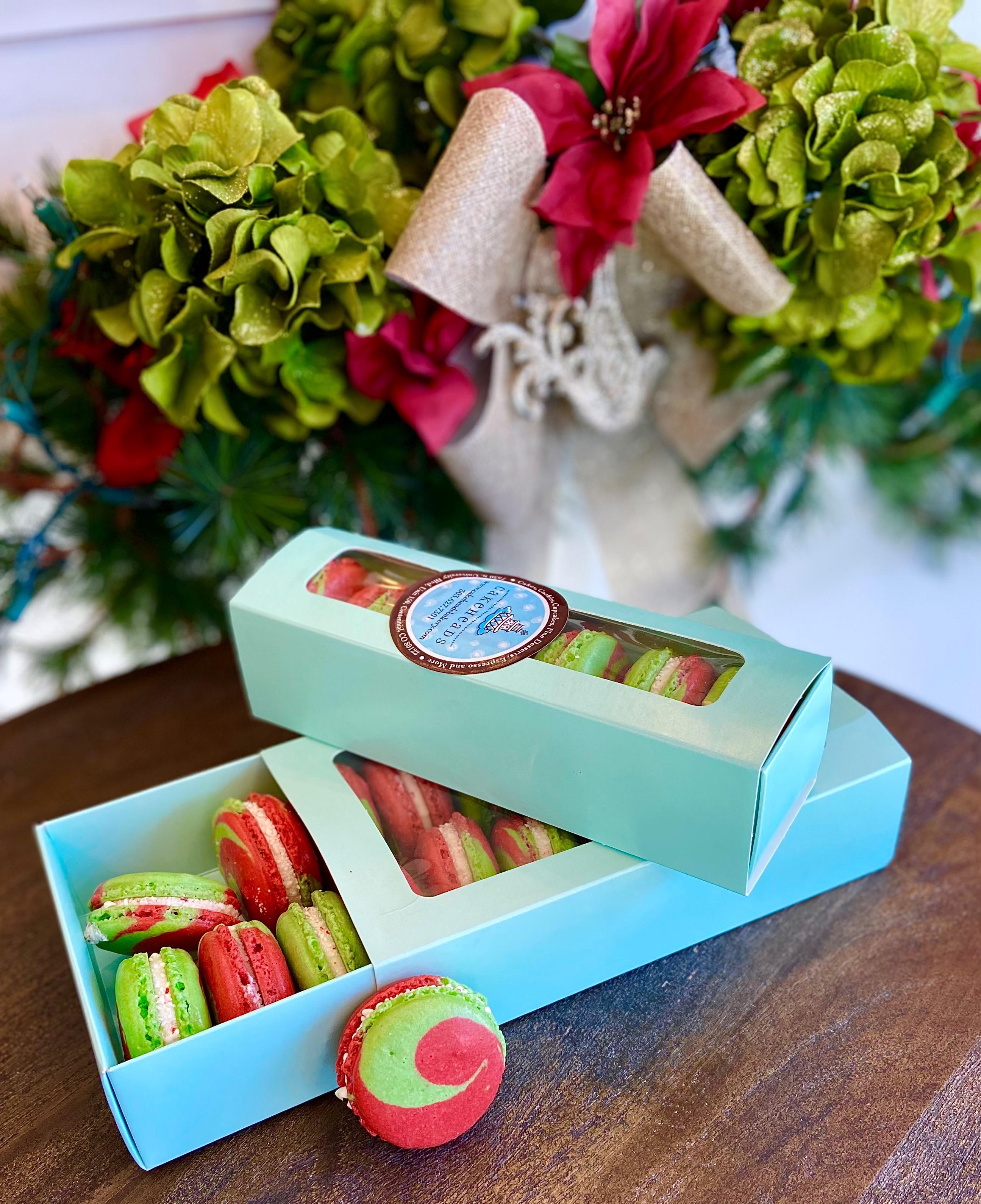 Christmas Macaron Gift Box (6) CGMB1