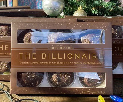 The Billionaire - Cookie Box BILAIRE
