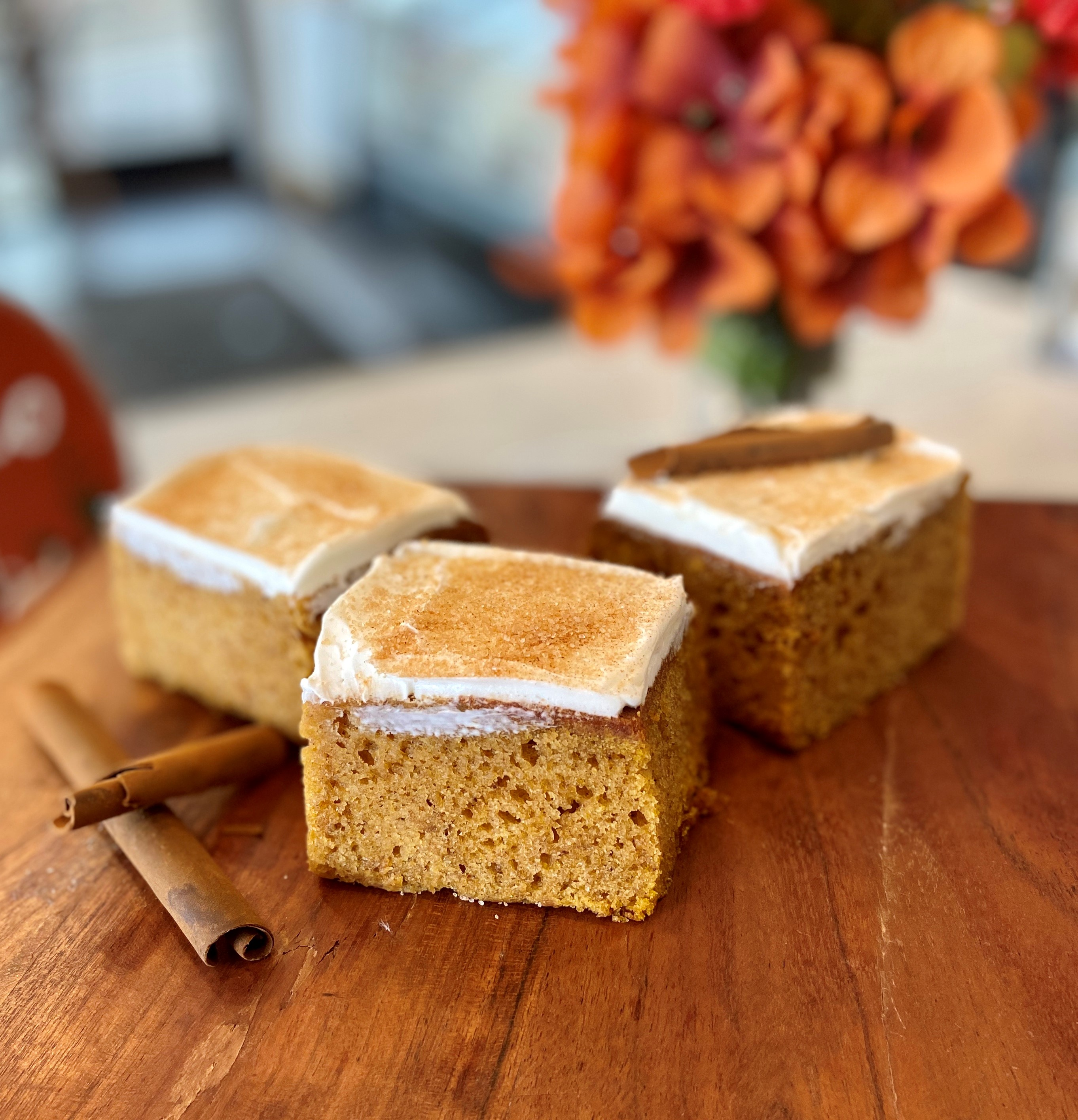 Pumpkin Bars With Cream Cheese pmpknbar1
