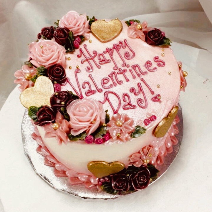 Happy Valentines Day Cake HAPVAL2020