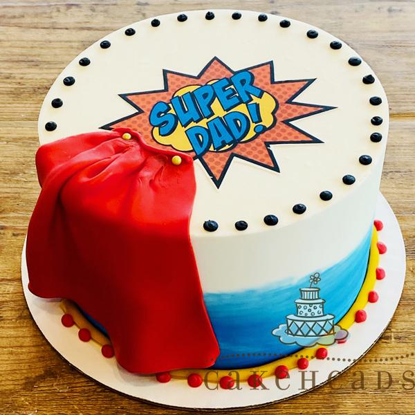 Super Dad Cake SUPDADCK2020