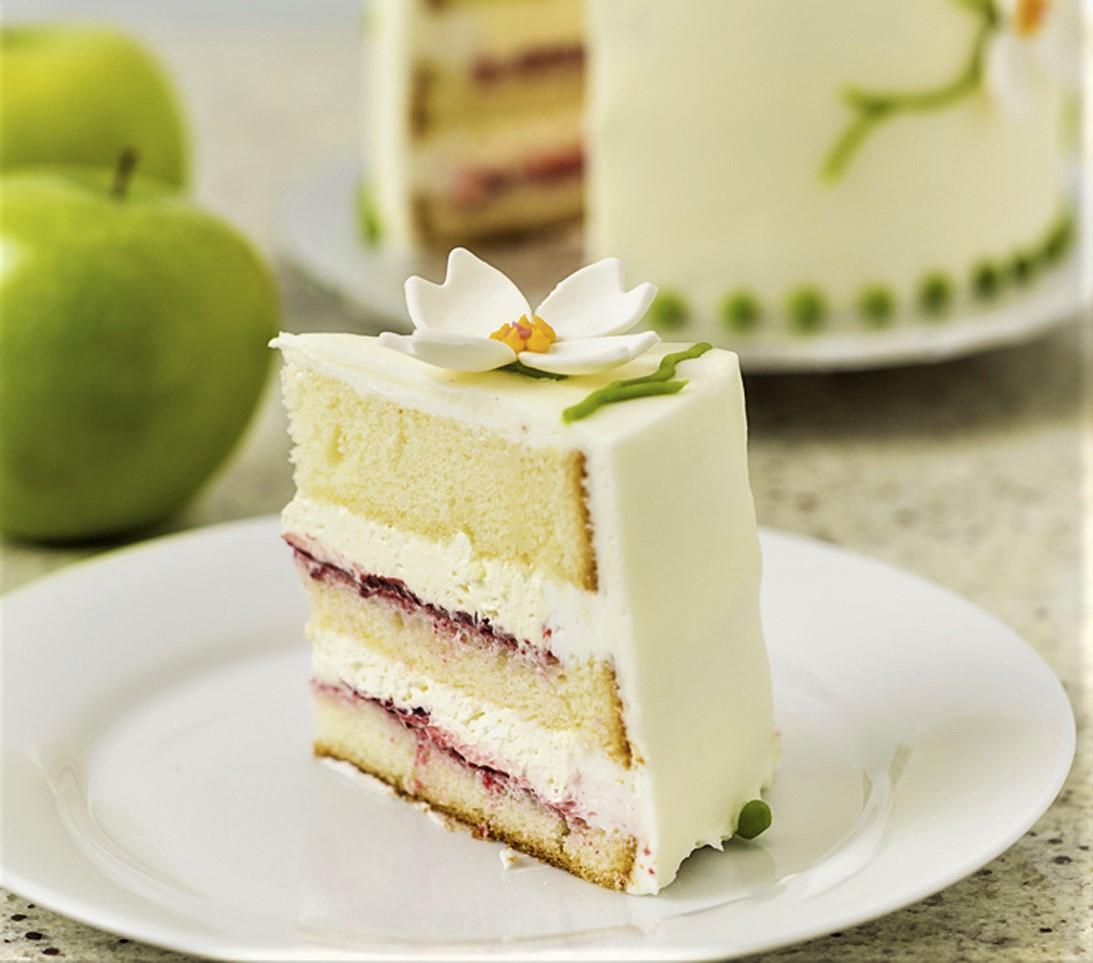 Passionfruit Cake Slice pcs1