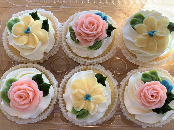 Fancy Floral Cupcake ffcupcake
