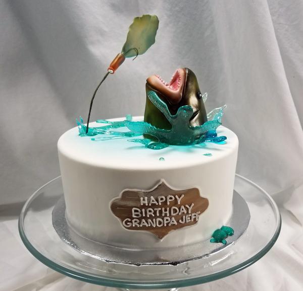 Cake For The Fisherman FISHCK20